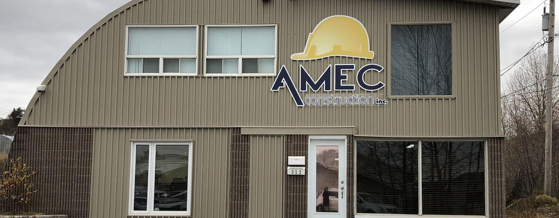 Entreprise - AMEC Construction